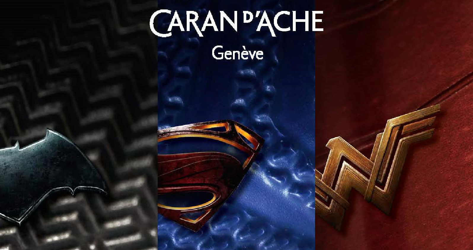 Caran d'Ache Justice League Special Edition