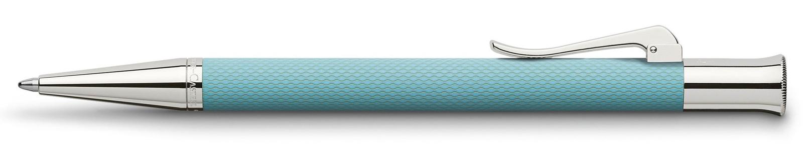 Graf von Faber-Castell Guilloche Turquoise Balpen