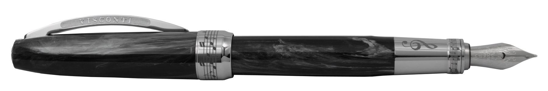 Visconti Hall of Music Collection Metal Black Vulpen