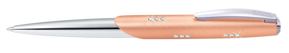 Online Icon Crystal Rosé Balpen