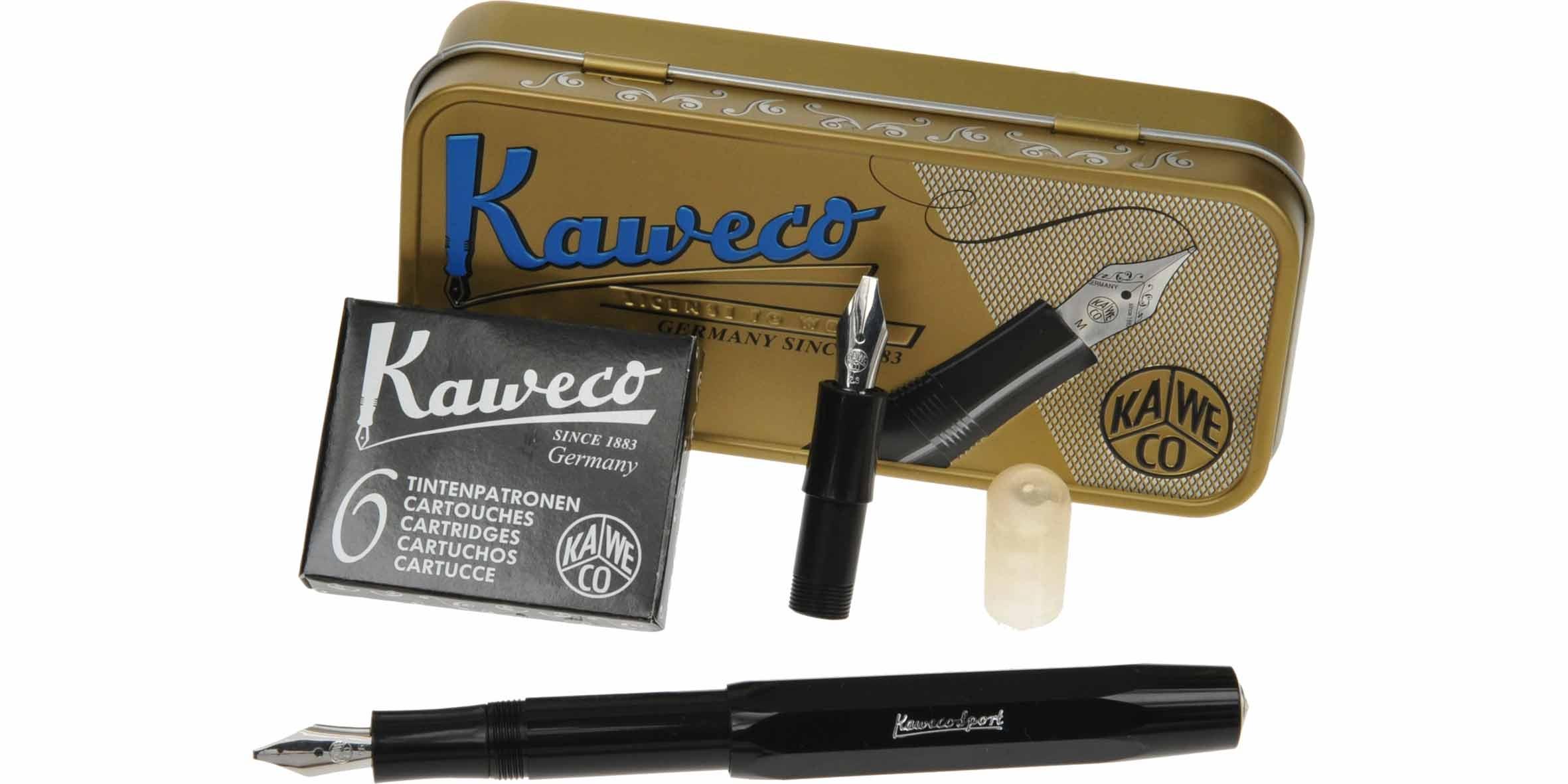 Kaweco Kalligrafie Set 2-delig Zwart