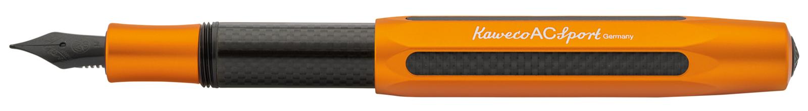 Kaweco AC Sport Carbon Oranje Vulpen
