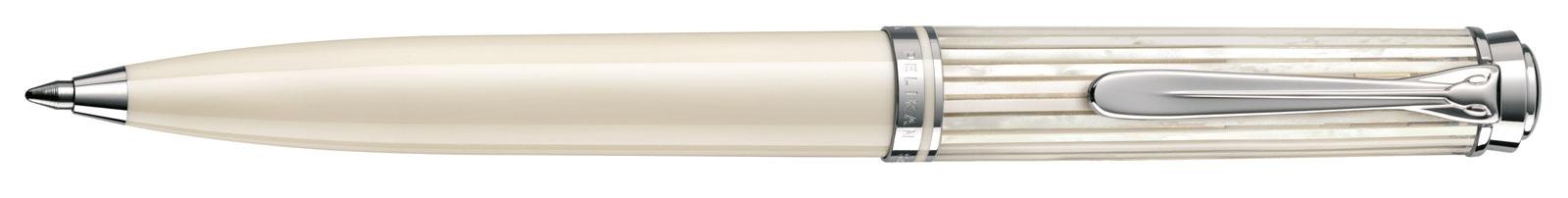 Pelikan Souverän White Transparant Special Edition Balpoint Pen