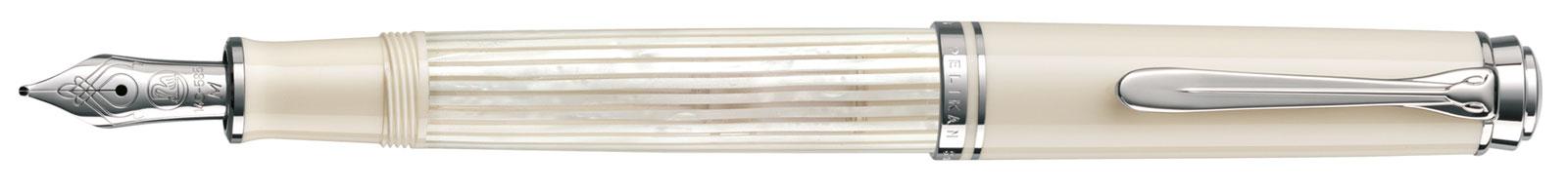 Pelikan Souverän 605 White Transparant