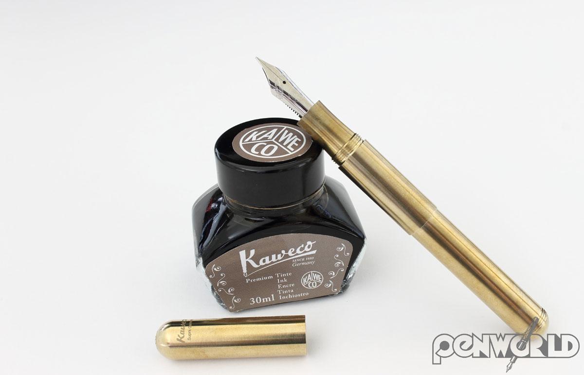 Kaweco Supra Brass with ink