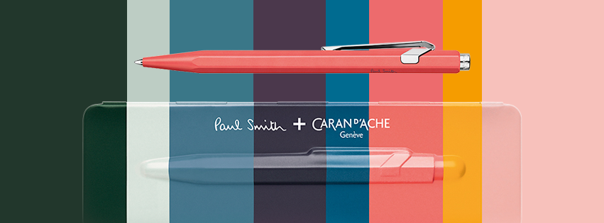 Caran d'Ache + Paul Smith Edition Two