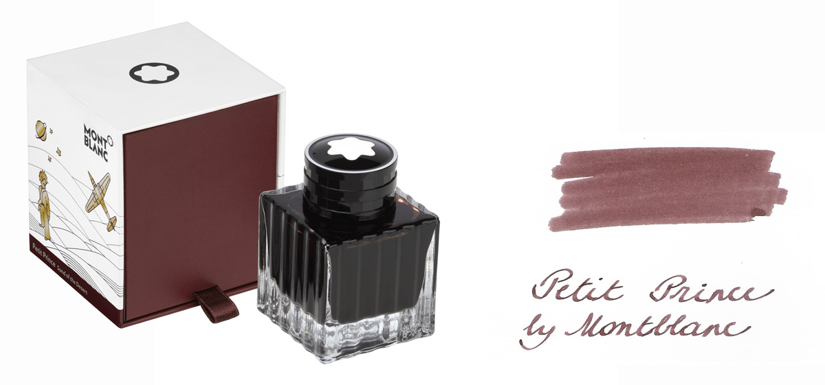 Montblanc Petit Prince Sand of The Desert Brown ink
