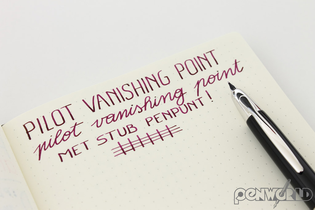 Pilot Capless Vanishing Point Stub
