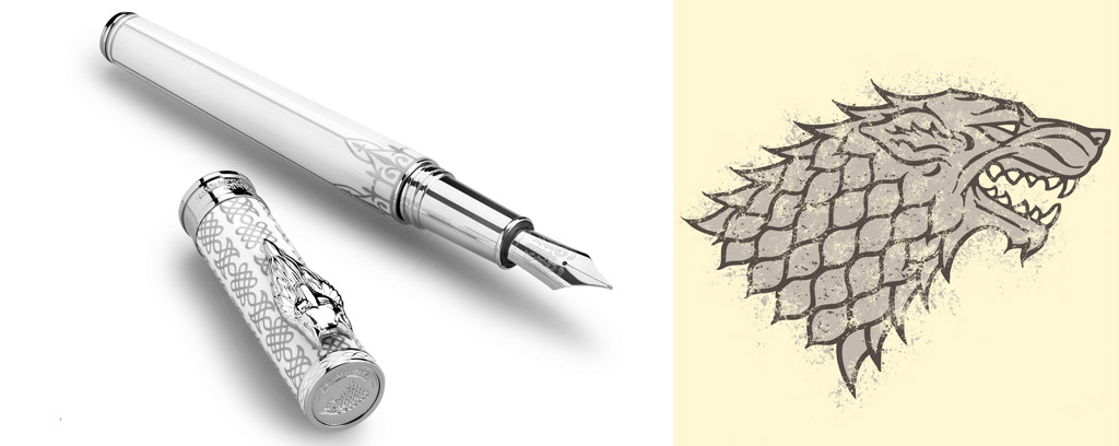 Games of Thrones Montegrappa Stark