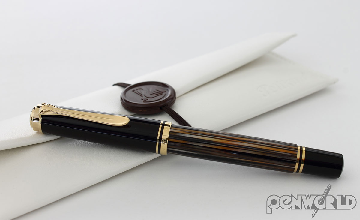 Pelikan Souverain 400 Tortoise Brown Fountain Pen