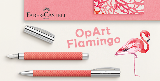 Faber-Castell Ambition OpArt Flamingo