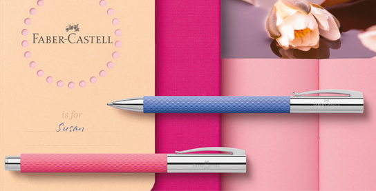 Faber-Castell Ambition Pink Sunset en Blue Ocean
